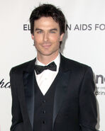 Ian somerhalder black suit bla