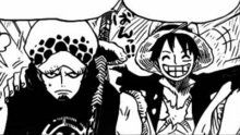 Law y Luffy