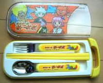 Bo-bobo Chopsicks & Spoon Set