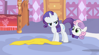 "Sweetie Belle ""Maybe I could just stand over here and watch"" S1E17"