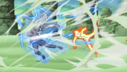 Naruto vs 3rd Raikage