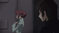 Lelouch noticing Kallen