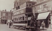 Tram in hanwell boston road