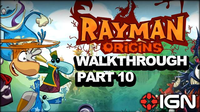 Rayman Origins Walkthrough - Desert of Dijiridoos Wind or Lose (Part 10)