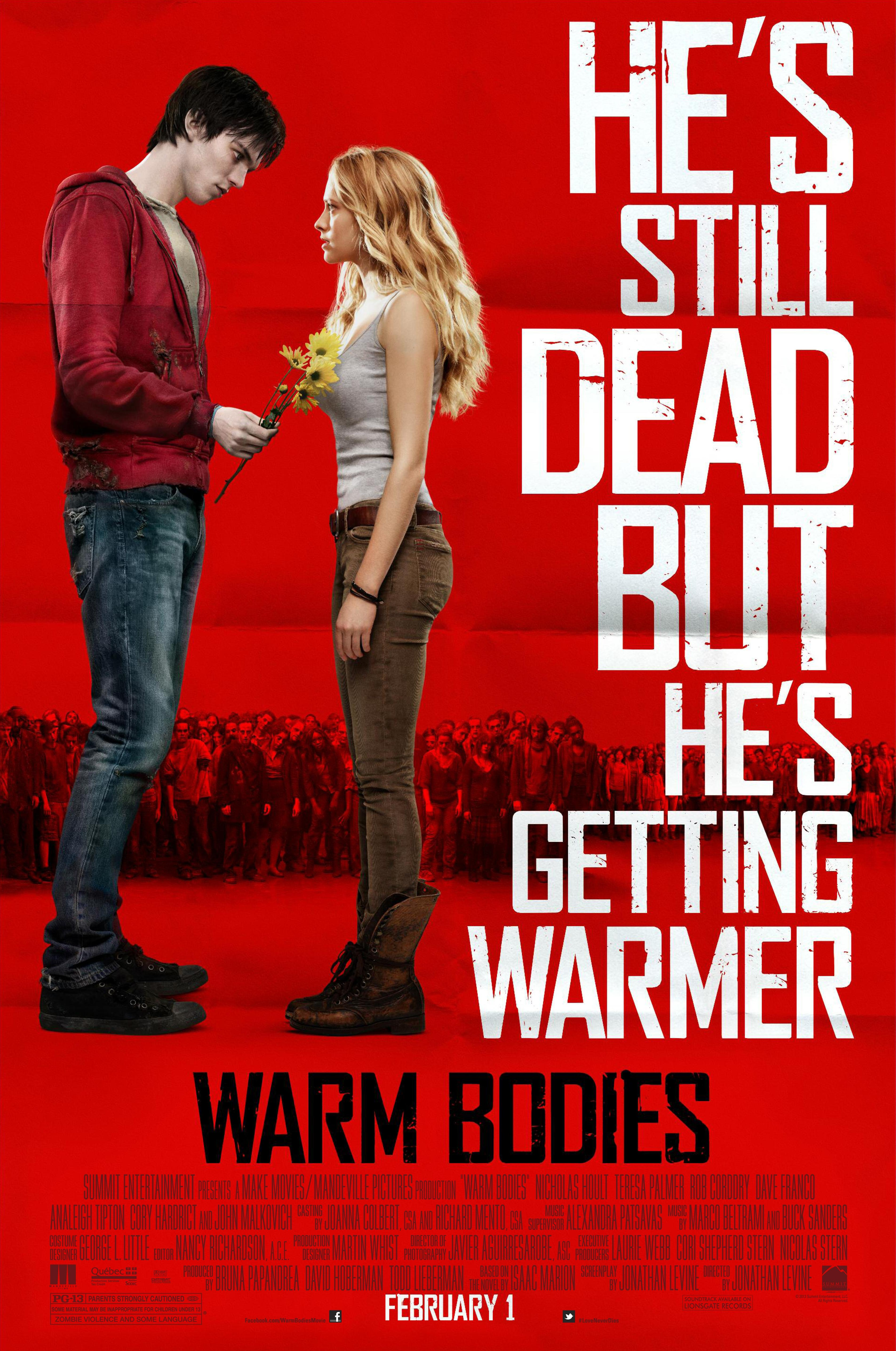 dead sexy credits title warm bodies directed by jonathan levine