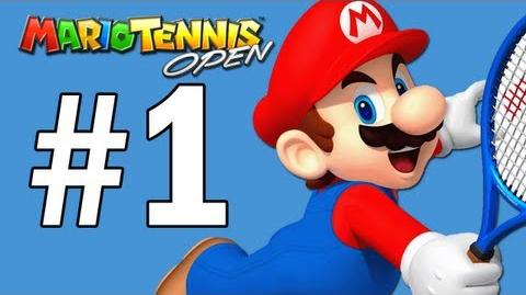 Mario Tennis Open Walkthrough Part 1 - Intro Mushroom Cup