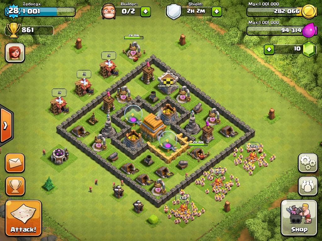 Best Clash Of Clans Base Level 5 Castle Clash Guide
