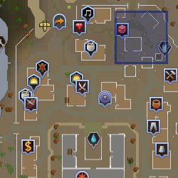 Circus location - Al Kharid