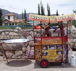 Kiosco SOLAR cart, 2-27-13