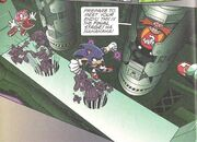 Final Zone in the Sonic X comic