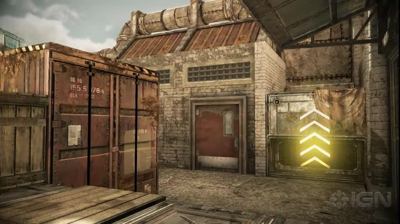 """Junkyard"" Map Tour Gears of War Judgment"