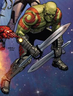 Arthur Douglas (Earth-616) from Guardians of the Galaxy Vol 3 1 cover