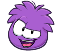 New Style Sassy Purple Puffle