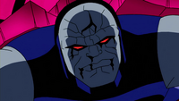 Darkseid battered