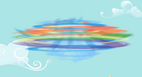 Rainbow spinning in a tornado S2E8