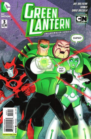 Cover for Green Lantern: The Animated Series #3