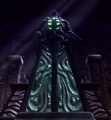 Dark Temple Statue