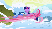 Pinkie Pie dry-brush smear S1E11