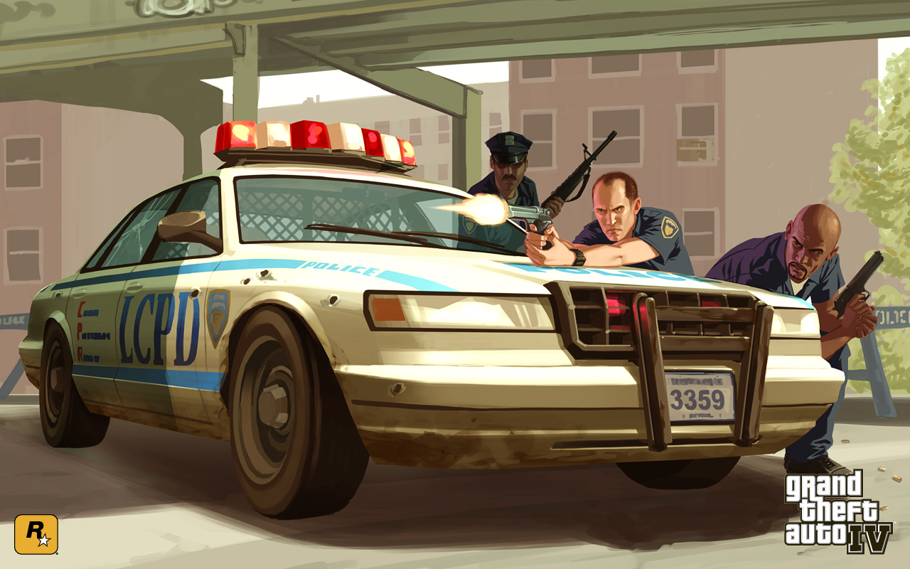 Voiture de police (gta iv) - grand theft wiki