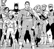 JLA team