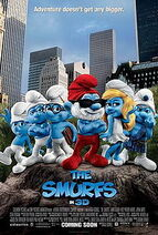 The Smurfs promotional poster