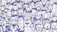 Fairy Tail's reaction to Nichiya