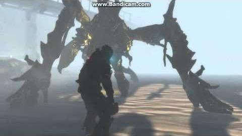 Dead Space 3 Snowbeast Death Scene