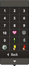 Habbo Popup Signs Menu