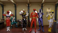All Lion Gokai Change