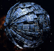 Borg Sphere studio model
