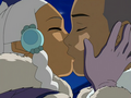 Sokka and Yue kiss.png