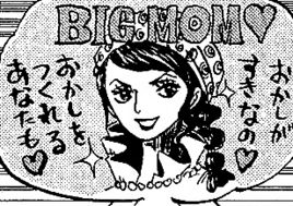 Big Mom imaginada por Sanji