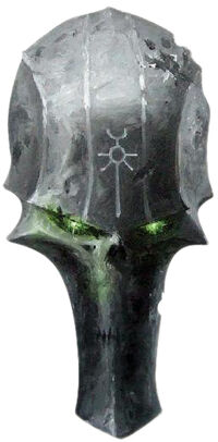 Necron head