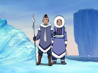 Sokka introduces Katara