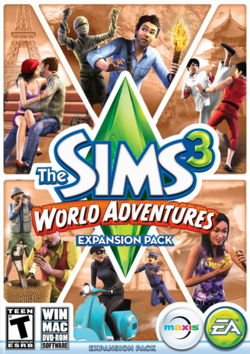 The Sims 3 World Adventures Cover