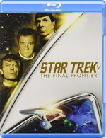 Star Trek V The Final Frontier Blu-ray cover Region A