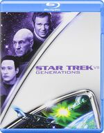 Star Trek Generations Blu-ray cover Region A