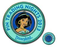 DLR - Disney Pin Trading Night 2013 - Jasmine