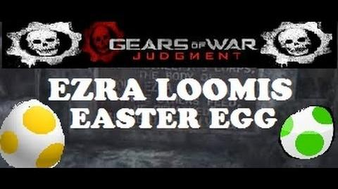 Gears of War Judgment Ezra Loomis Easter Egg 1080p w.commentary