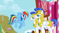 Rainbow Dash Derp S1E22