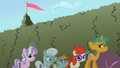 Twist Cutie Mark Crusaders Fighting Cheerilee&#039;s Class6 S2E1.png