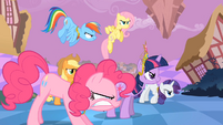 Main ponies Fierce Determination S2E2