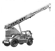 1966 TAYLOR JUMBO 3T 4X4 Crane Diesel