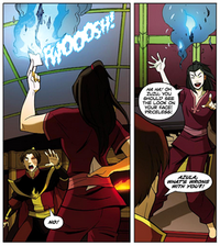 Azula burning Ursa&#39;s letters