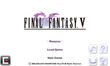 FFV iOS Title Screen
