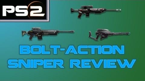 Planetside 2 - Bolt-Action Sniper Review and Comparison - Mr. G4F-0