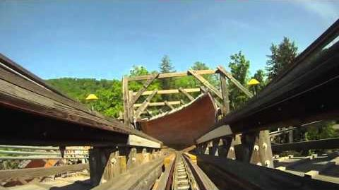 Flying Turns (Knoebels) - OnRide (360p)