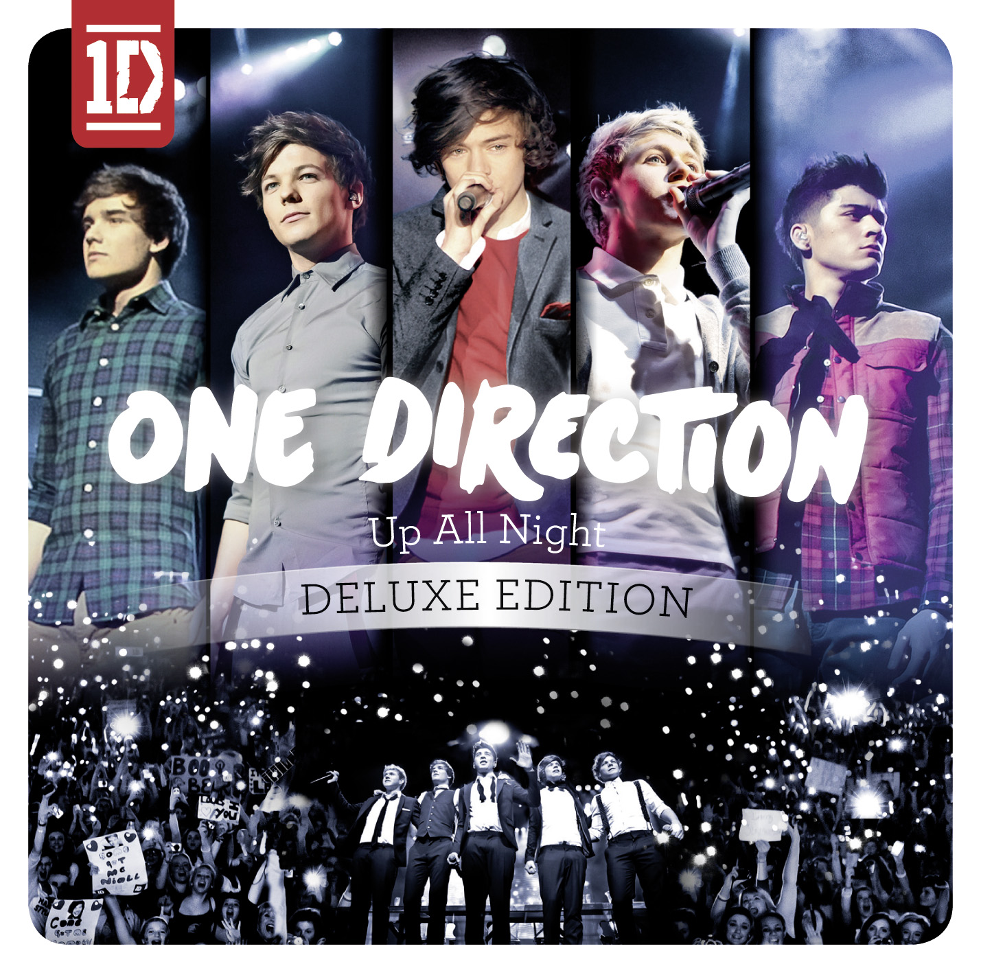 One Direction Up All Night DELUXE Edition CoverUp All Night Album Cover Deluxe