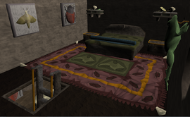 Zanik's bedroom