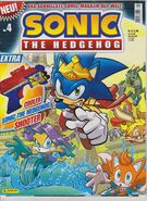 Sonic the Hedgehog magazin titelseite 001